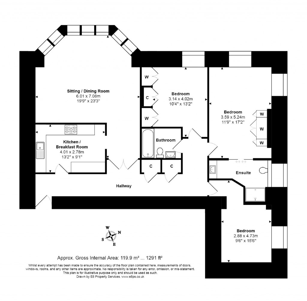 Floorplans For St Georges Manor, Littlemore, Littlemore, OX4