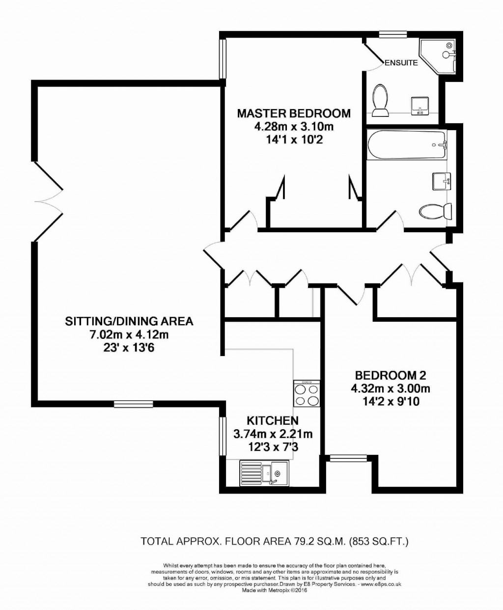 Floorplans For 88 Cumnor Hill, Oxford, OX2