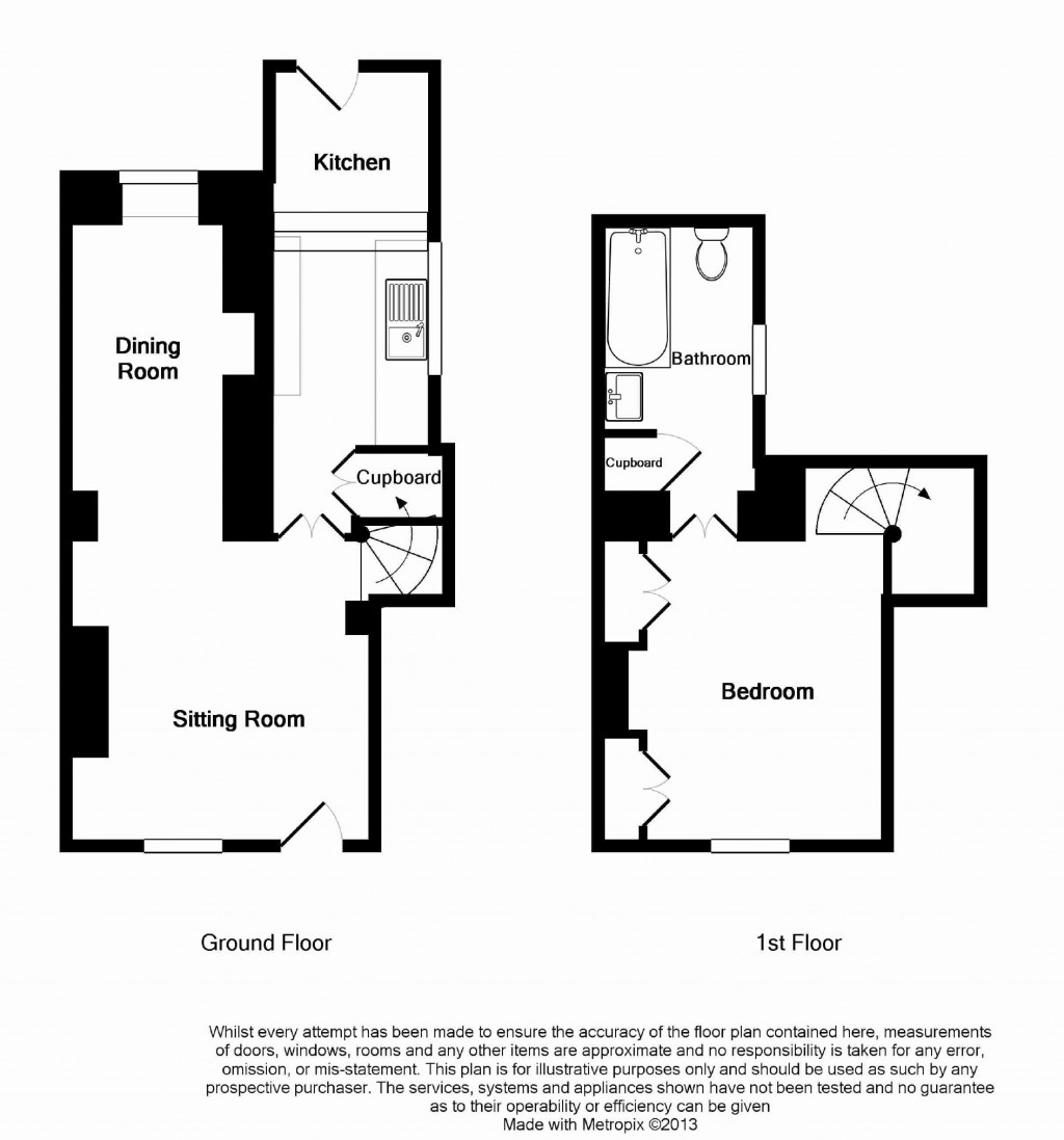 Floorplans For Ferndale Street, Faringdon, Oxfordshire, SN7