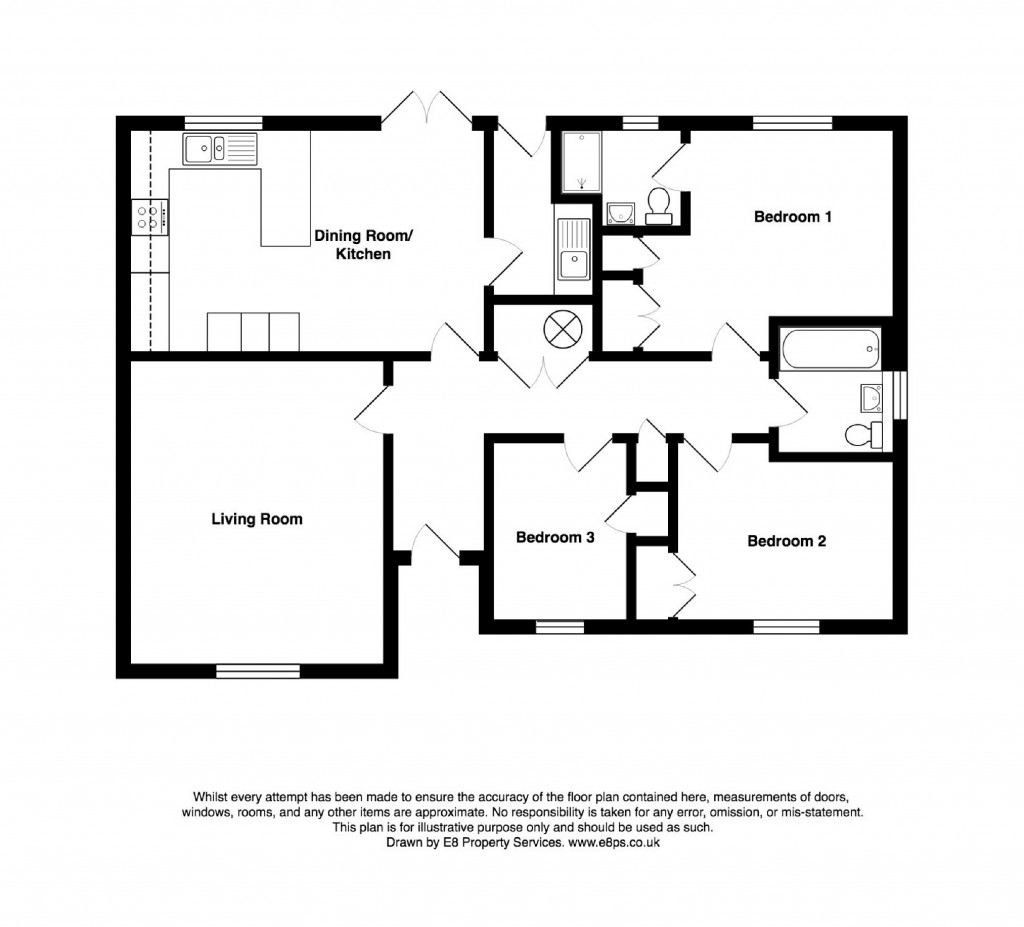 Floorplans For Wellington Way, Southmoor, Abingdon, Oxfordshire, OX13