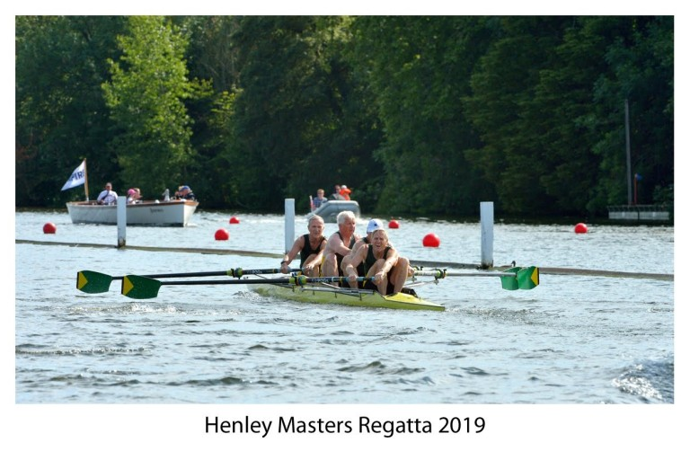 Old Rowers never Die, they just lose their Stroke